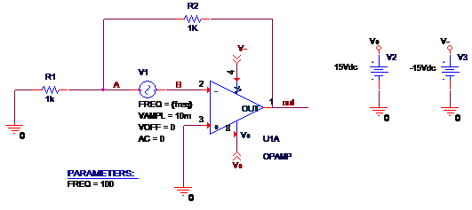 Quick Tutorial: Graphing the Open Loop Gain of a Circuit in PSpice