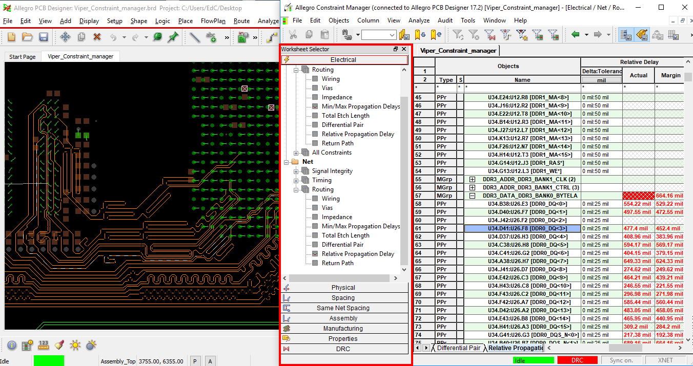 5 Ways To Assess Pcb Constraint Management Systems For High Speed Circuits Software Pic Electrical Cad Softw Free Mechanical Designs